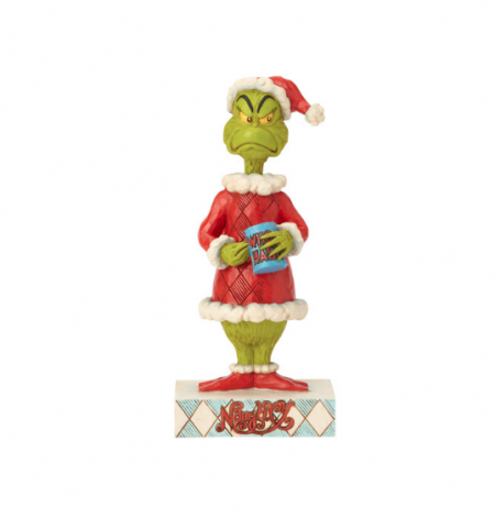Two-Sided Naughty/Nice Grinch | Jim Shore