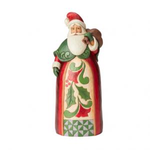 Santa with Toy Bag Statue | Jim Shore