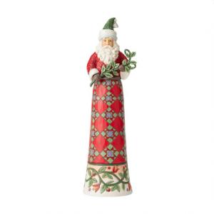Tall Santa with Branch | Jim Shore
