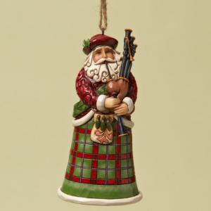 Scottish Santa   Jim Shore