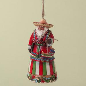 Mexican Santa Ornament | Jim Shore