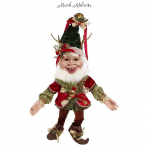 SLEIGH RIDE ELF, MED 19'' | MARK ROBERTS