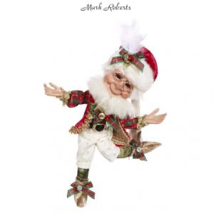 "CHRISTMAS DECORATING ELF 11"" | MARK ROBERTS"
