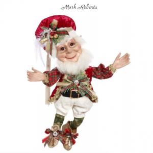 "CHRISTMAS DECORATING ELF 17"" | MARK ROBERTS"