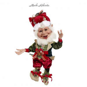 CHRISTMAS ORNAMENT ELF | MARK ROBERTS