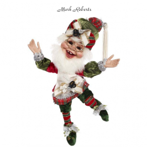 GIFT WRAPPING ELF, SM 11'' | MARK ROBERTS