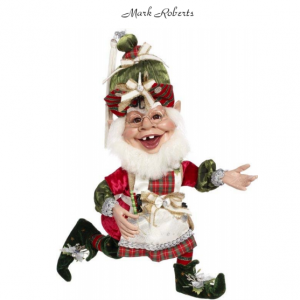 GIFT WRAPPING ELF, MED 19'' | MARK ROBERTS