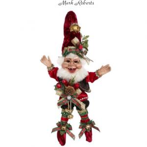 "CHRISTMAS CAROLING ELF 10"" | MARK ROBERTS"