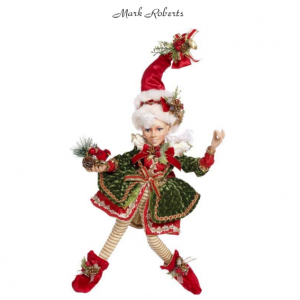NORTH POLE HOLLY BELLE GIRL ELF | MARK ROBERTS