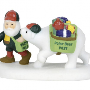 North Pole Village Series | Polar Bear Post | Department 56