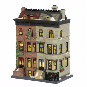 Christmas In The City Series | Upper Westside Brownstones | Department 56