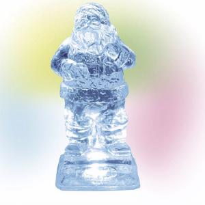 Village Accessories | Lit Ice Castle Santa | Department 56