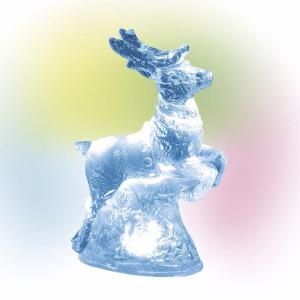 Village Accessories | Lit Ice Castle Reindeer | Department 56