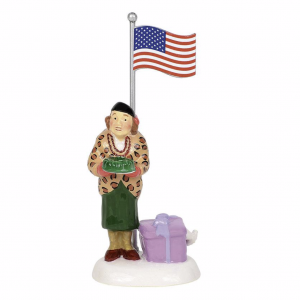 Snow Village Series | Play Ball! Aunt Bethany | Department 56