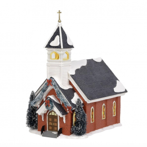 Snow Village Series | Mount Olive Church | Department 56