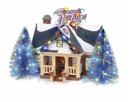 Snow Village Series | Brite Lites Holiday House | Department 56