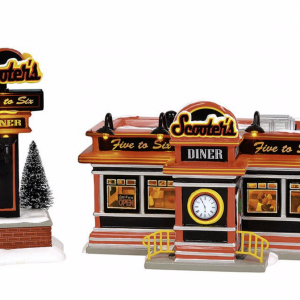 Snow Village Series | Scooter's Diner | Department 56