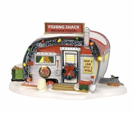 Snow Village Series   Stumble Inn Fish Shack   Department 56