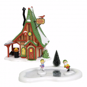 North Pole Village Series | NP Holiday Skating Party | Department 56