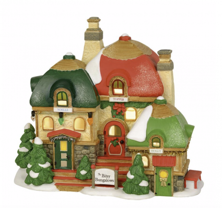North Pole Village Series   The Bitsy Bungalows   Department 56