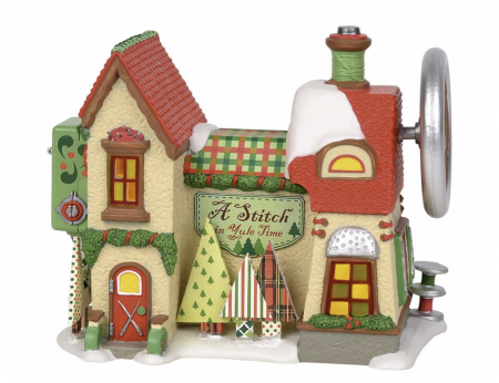 North Pole Series | A Stitch In Yule Time | Department 56 Village