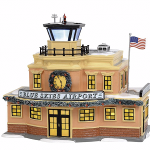 Snow Village Series | Blue Skies Airport | Department 56