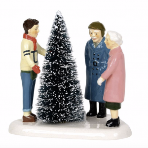 Snow Village Series | Choosing The Perfect Tree | Department 56