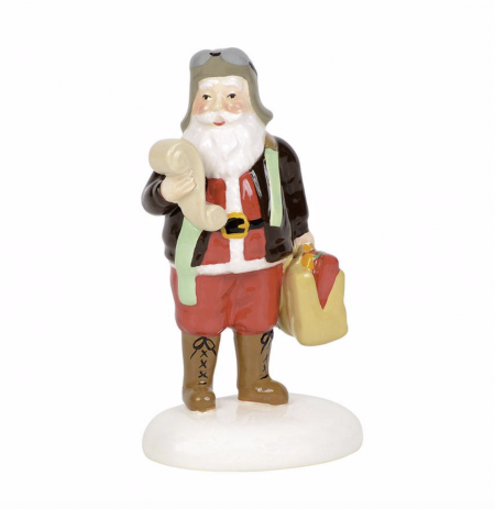 Snow Village Series | Aviator Santa | Department 56