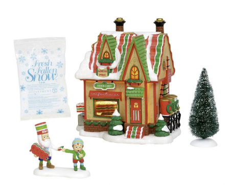North Pole Village Series   North Pole Ribbon Candy   Department 56
