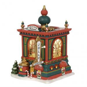North Pole Village Series | Jolly Club Ballroom | Department 56