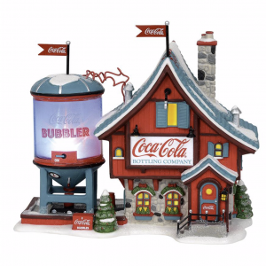 North Pole Village Series | Coca-Cola Bubbler | Department 56