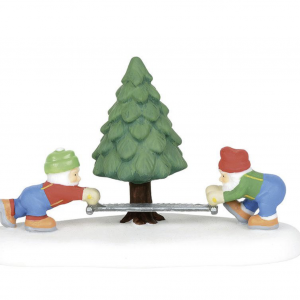 North Pole Village Series | They Came, They Sawed | Department 56