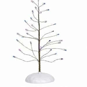 Village Accessories | Pink & Purple Twinkle Tree | Department 56