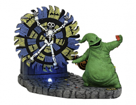 The Nightmare Before Christmas Series | Oogie Boogie Gives a Spin | Department 56