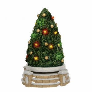 Village Accessories | Lit Rotating Festive Tree | Department 56