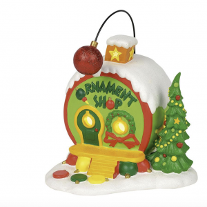Grinch Village Series | Who-Ville Ornament Shop | Department 56