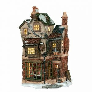 A Christmas Carol Series | Cratchit's Corner Lighted Buildings | Department 56