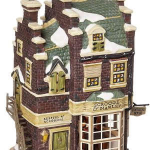 A Christmas Carol Series | Scrooge & Marley's Counting House | Department 56 Village