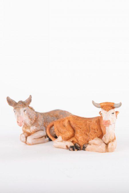 Fontanini|Donkey&Ox