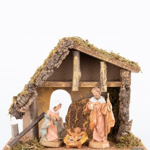 Fontanini|Holy Family in Stable