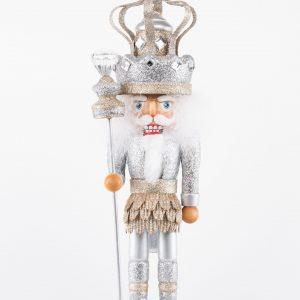 Kurt S. Adler|Nutcracker-Silver Crown