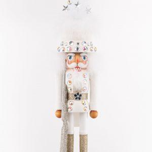 Kurt S. Adler|Nutcracker-White Tree Hat