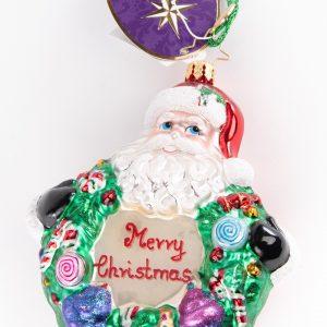 Christopher Radko|Santa Ornament