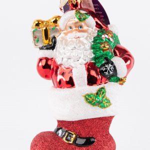 Christopher Radko|Sanda in Stocking Ornament