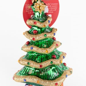 Christopher Radko|Garland Christmas Tree Ornament
