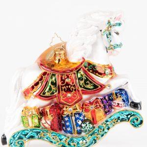 Christopher Radko|Rocking Horse Ornament
