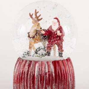 Glitterdome|Reindeer Snowball