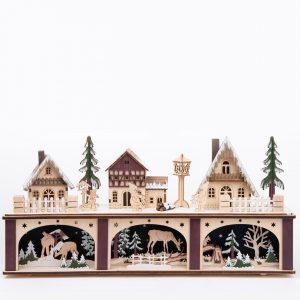 Midwest Seasons|Three houses