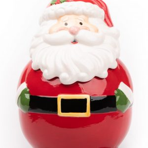 Burton+burton|Santa Cookie Jar