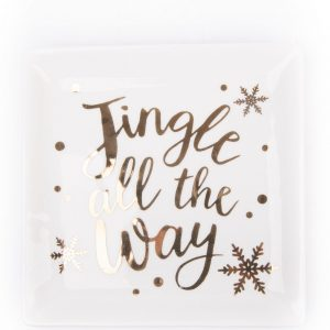 Burton+burton|Jingle all the Way Plate